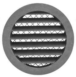 Решетка круглая наружняя с защитной сеткой PGS-S