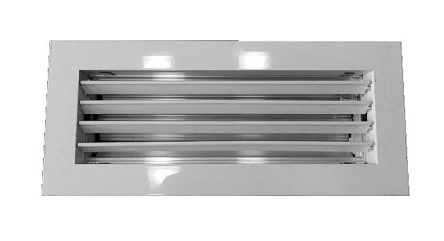 Решетка однорядная с клапаном расхода воздуха АМР-М
